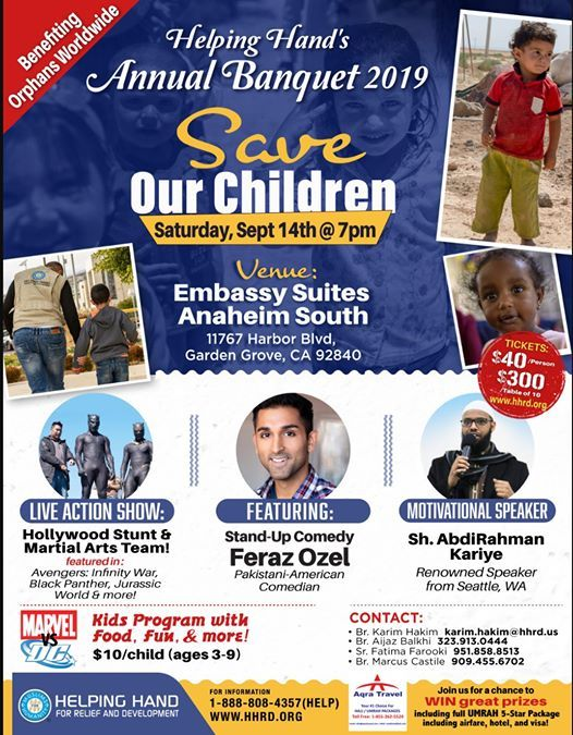 CA: Helping Hands Annual Banquet 2019 at Embassy Suites