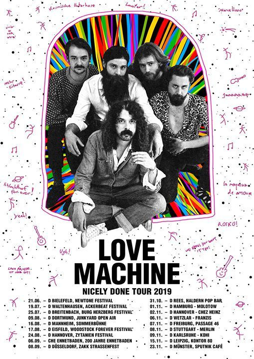 Love Machine  Leipzig  Kontor 80
