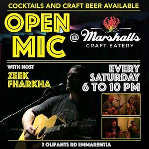 Open Mic Saturday Night