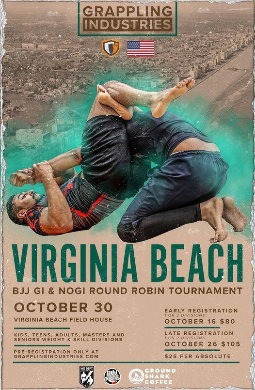 Grappling Industries Virginia Beach, 30 October   Event in Virginia Beach   AllEvents.in