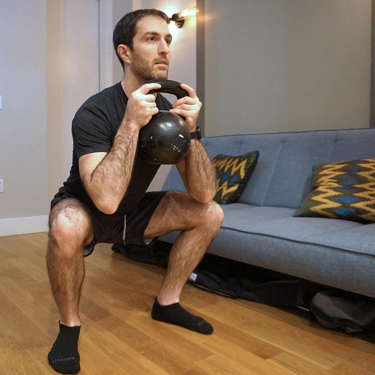 Virtual Dumbbell or Kettlebell Circuit Training