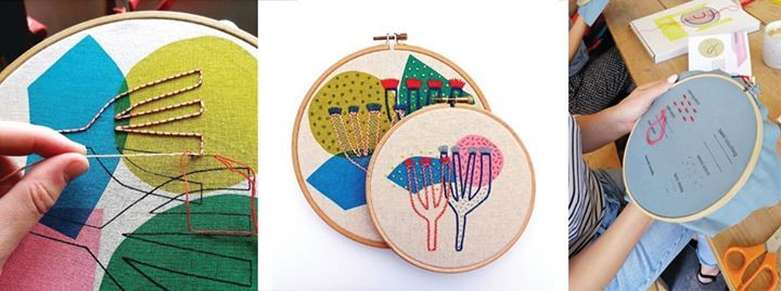 Introduction to Embroidery with Miesje Chafer