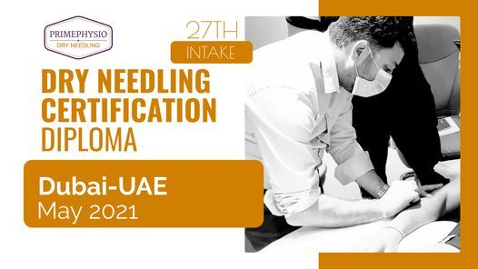 Dry Needling Certification Diploma, 27 May | Event in Dubai | AllEvents.in
