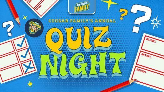 Annual Cougar Quiz Night, 20 March | Event in Perth | AllEvents.in