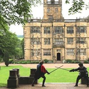 Silver School of Arms at Gawthorpe Hall Padiham