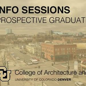 Info Session Prospective Graduate Students