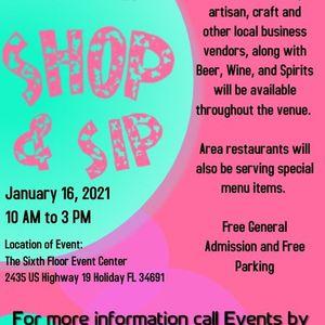 Pop Up Market Shop and Sip