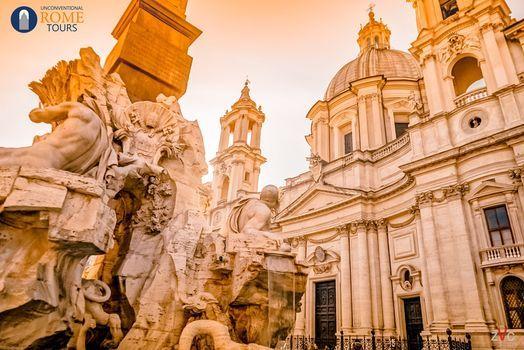 Bernini VS Borromini. Visita teatralizzata nel cuore di Roma barocca