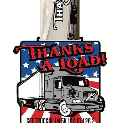 VIRTUAL RACE Get Truckin 1M 5K 10K 13.1 26.2 Washington