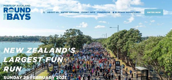 Round The Bays 2021, 28 February   Event in Auckland   AllEvents.in