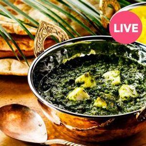 Online Kochkurs Palak Paneer