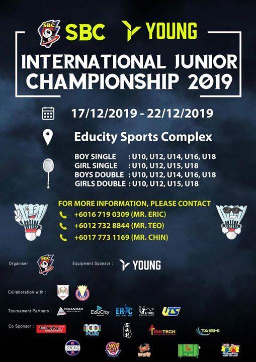SBC International Junior Championship 2019