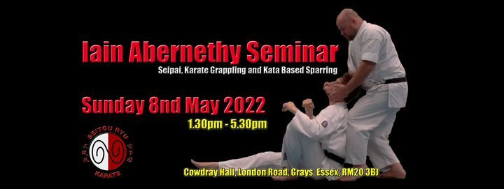 Iain Abernethy Seminar - Grays, Essex, 22 May | Event in Bexley | AllEvents.in