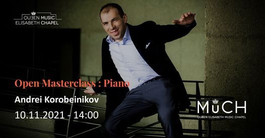 Open Masterclass - Piano, 10 November   Event in Waterloo   AllEvents.in