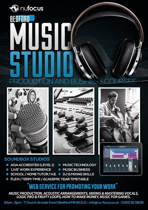 Bedford Music and Video Production Course