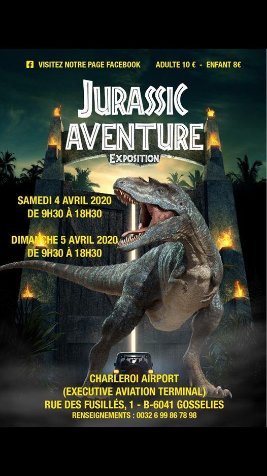 Exposition de dinosaures  Charleroi