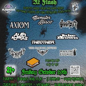 Halloween Monster Mash at Flash - Multi Genre Show