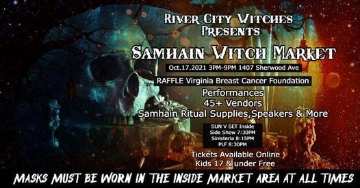 Samhain Witch Market, 17 October   Event in Richmond   AllEvents.in