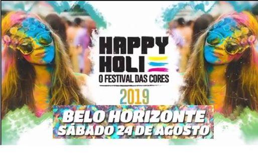 HAPPY HOLI - BELO HORIZONTE - 2019