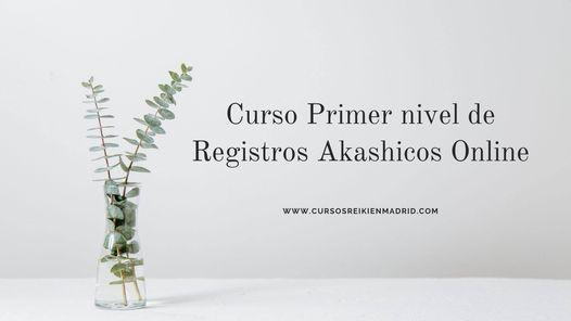 Curso Primer nivel de Registros Akashicos Online, 16 April   Event in Madrid   AllEvents.in