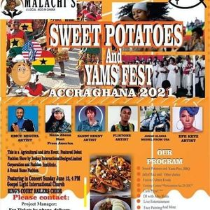 Sweet Potatoes and Yams Fest Accra Ghana