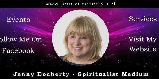 Jenny Docherty Spiritual Mediumship Demo, 23 September   Event in Gosport   AllEvents.in