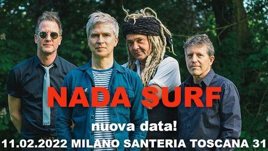 Nada Surf at Santeria Toscana 31, Milano NUOVA DATA, 11 February | Event in Milan | AllEvents.in