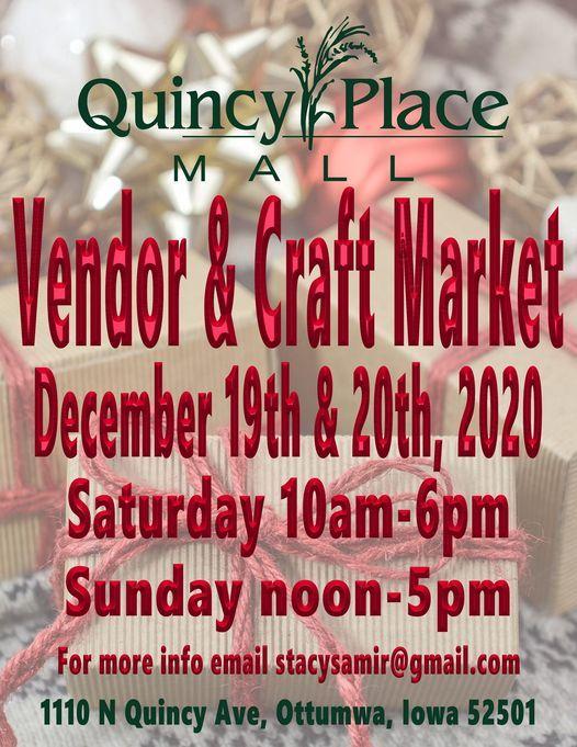 Vendor & Craft Market!, 19 December | Event in Ottumwa | AllEvents.in