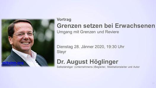 Vortrag Dr. August Hglinger  Grenzen setzen bei Erwachsenen