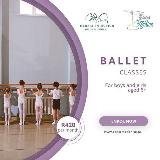 Dance Motion BB Ballet Dance class, 14 April | Event in Alberton | AllEvents.in