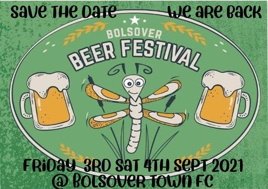 Bolsover Beer festival 2021, 3 September   Event in Chesterfield   AllEvents.in