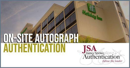 JSA at the Holiday Inn Alafaya Sports Card Show