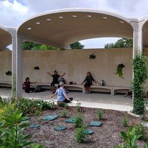 Meditation at the Garden