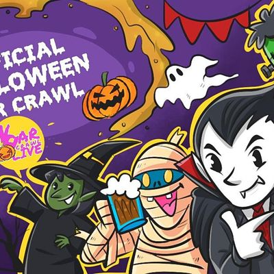 Official Halloween Bar Crawl  Richmond VA - 2021
