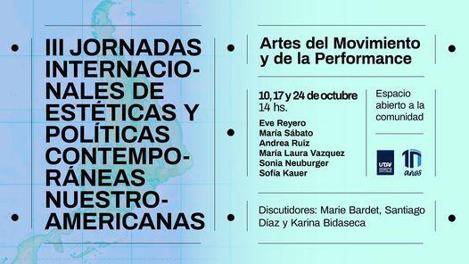 III Jornadas. Bloque Artes del Movimiento y de la Performance