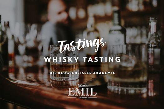 Whisky-Tasting: Die Klugscheisser Akademie, 1 May | Event in Lünen | AllEvents.in