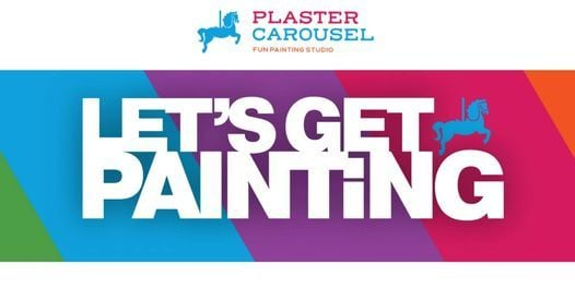 Teen & Adult Paint Night at Plaster Carousel, 4 February | Event in Coral Springs | AllEvents.in