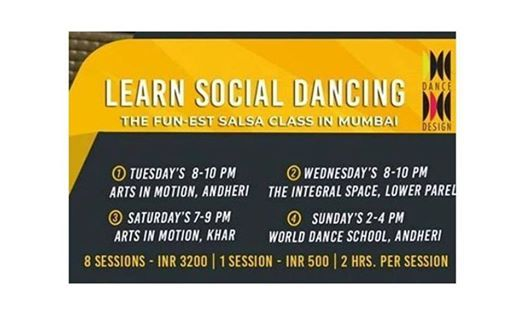 Learn Social Dancing By- Team Dance Design