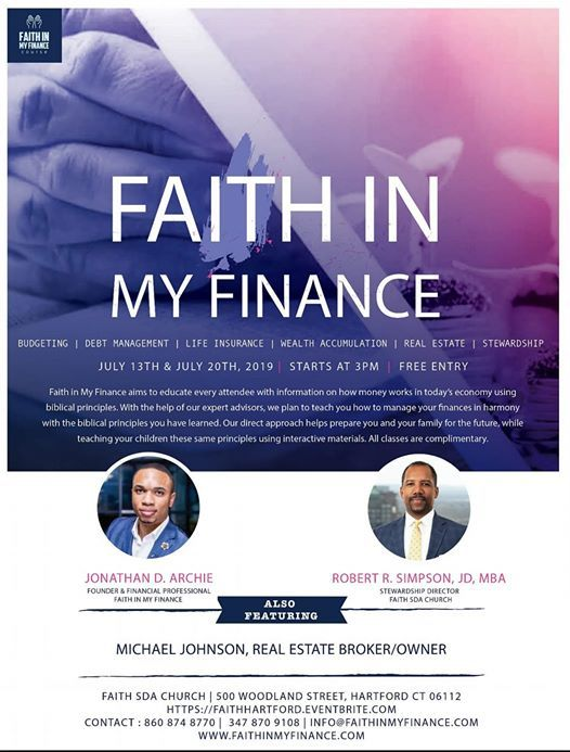 Faith In My Finance Course - Part 2 at Faith SDA Church