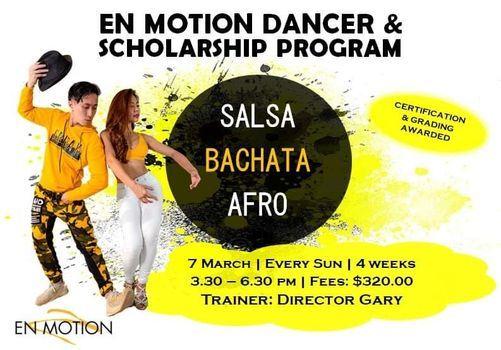 En Motion Dancer & Scholarship Program 2.0, 7 March | Event in Singapore | AllEvents.in