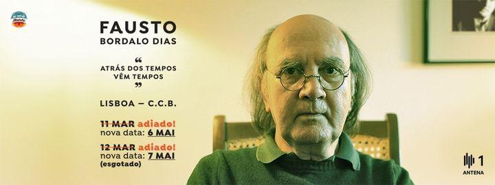 Fausto Bordalo Dias - Atrás dos Tempos Vêm Tempos, 6 May | Event in Lisbon | AllEvents.in