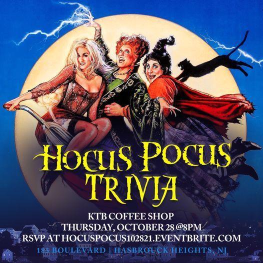 Hocus Pocus Trivia, 28 October | Event in Hasbrouck Heights | AllEvents.in
