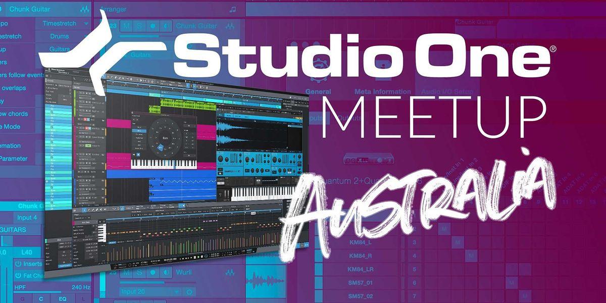 Studio One E-Meetup - Australia   Online Event   AllEvents.in