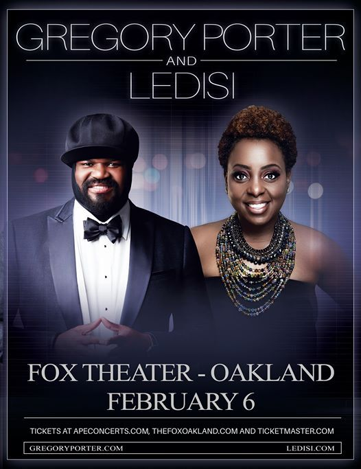 Gregory Porter and Ledisi at Fox Theater