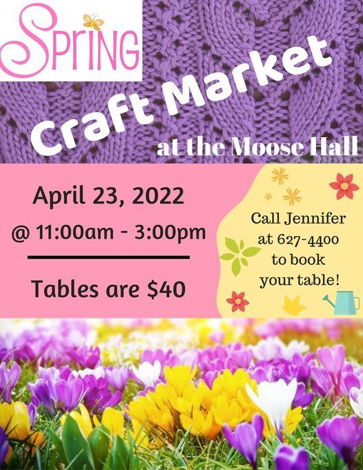 Spring Craft Market at the Moose, 25 April | Event in Thunder Bay | AllEvents.in
