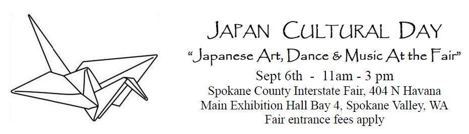 Japan Cultural Day at the Fair | Spokane