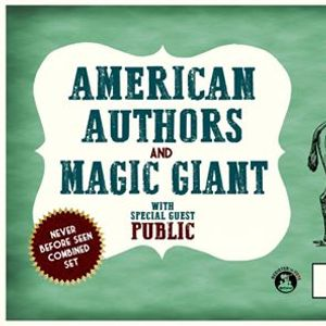 American Authors and Magic Giant at Turner Hall Ballroom