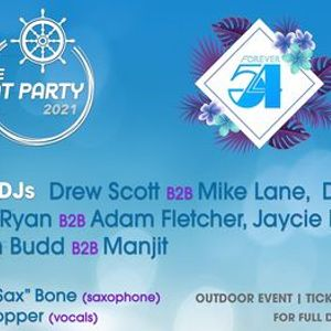 Forever 54 Boat Party