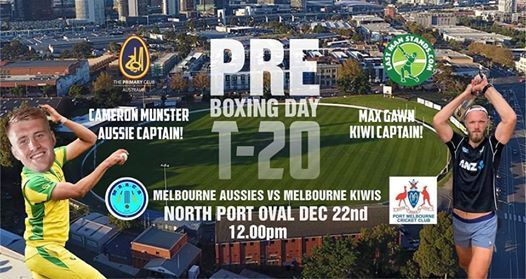 The Pre Boxing Day T20