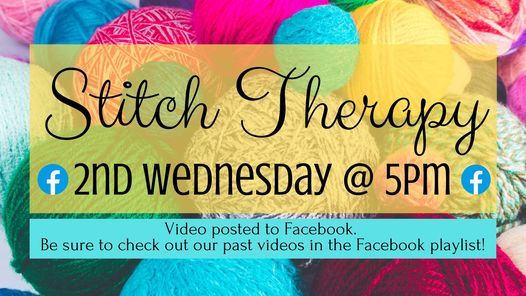 Stitch Therapy, 14 April | Online Event | AllEvents.in